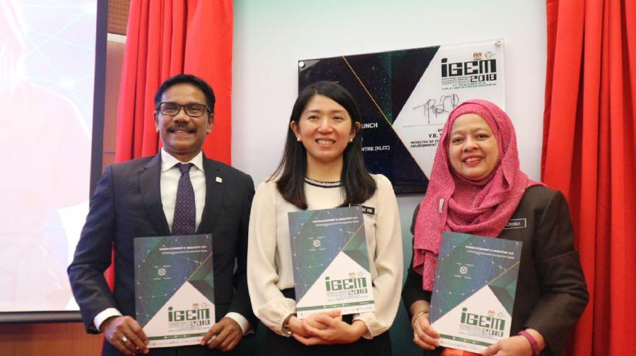 The International Greentech and Eco Products Exhibition and Conference Malaysia (IGEM 2018) is targeting RM2.5 billion in business leads via the participation of more than 250 exhibitors and 30,000 visitors from over 35 countries. (Photo courtesy of IGEM)