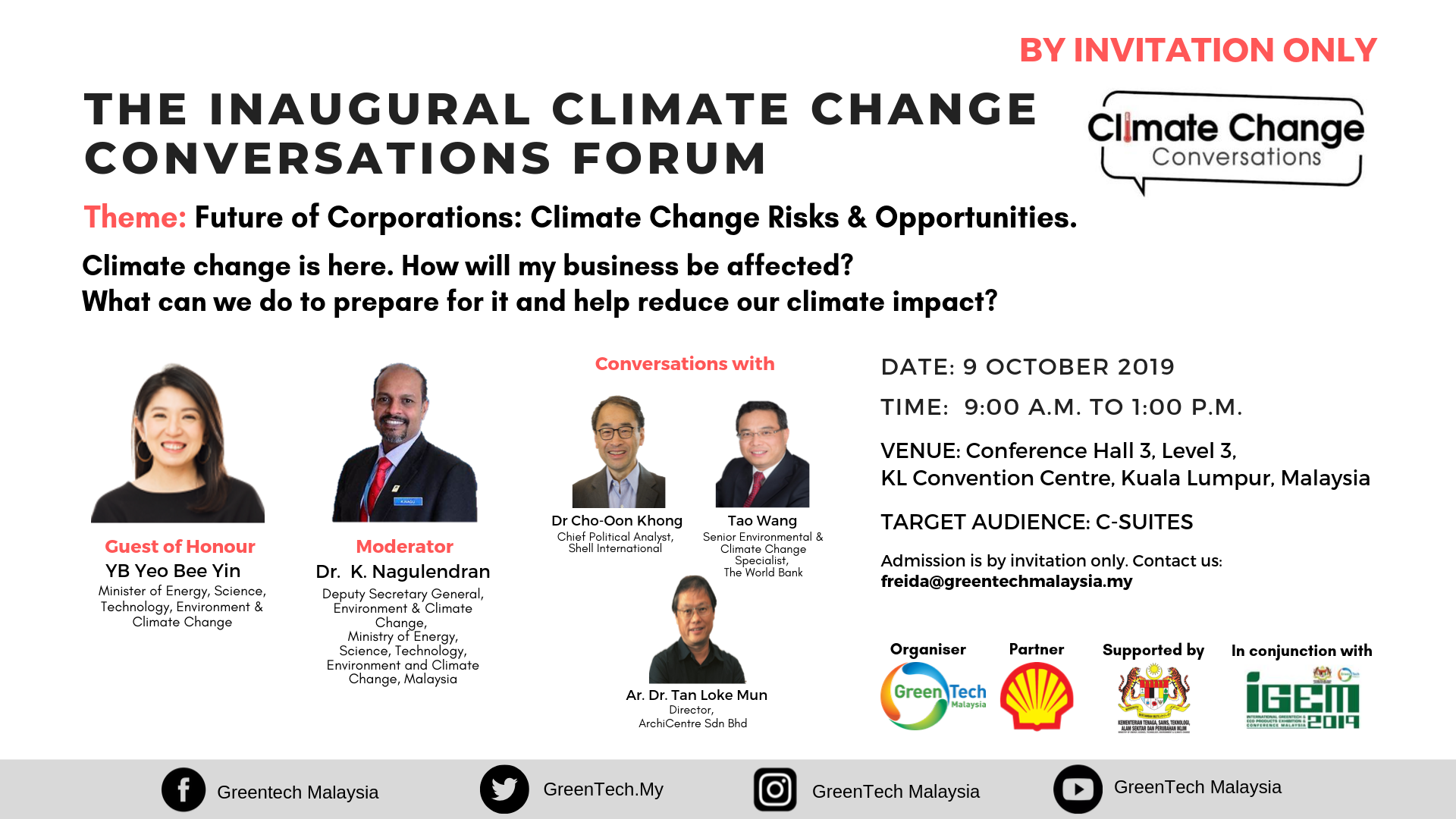 Climate Change Conversations Forum