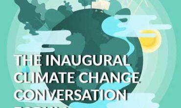 Climate Change Conversations Forum (9 October 2019) Programme